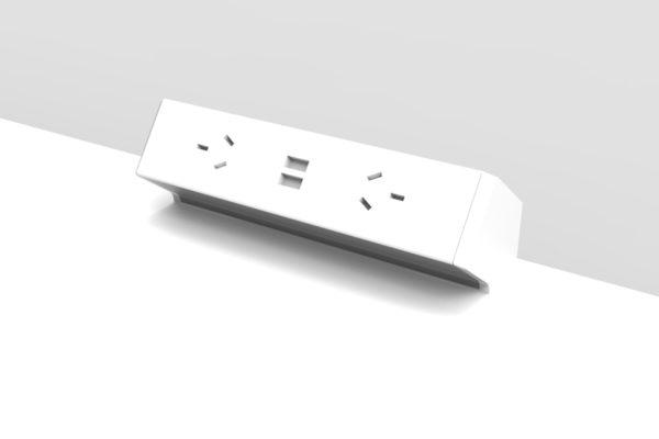 Power & Data Above Desk
